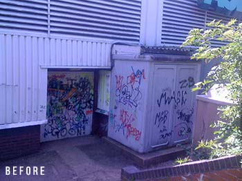 Graffiti Removal in Whetstone