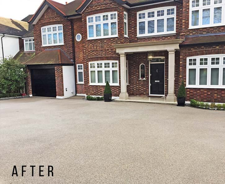 Driveway cleaning in Hampstead