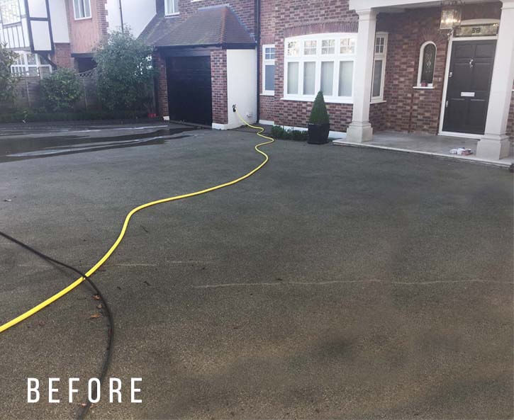 Driveway cleaning in Totteridge